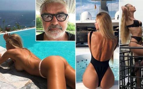 Calendario Di Elisabetta Gregoraci.Bomba Sexy Taylor Mega