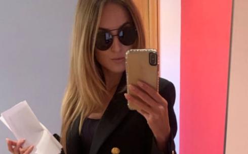 Selfie Allo Specchio.Lady Zielinski Selfie Allo Specchio