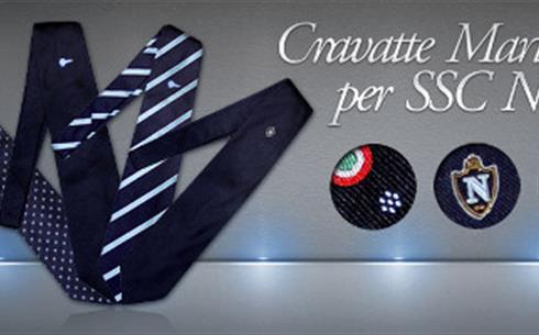 Si completa la gamma di Cravatte Marinella per la SSC Napoli con gli ultimi  due modelli  Daisy e Flag. La qualità sartoriale napoletana ab7677498091
