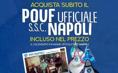 PREZIOSO CASA - Doppio regalo a Natale per i tifosi del Napoli: pouf ...